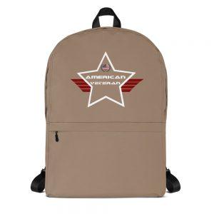 American Veteran Desert Brown Mid-sized Activity Backpack