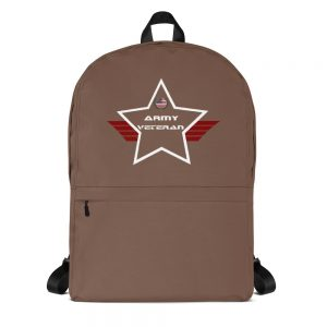 Army Camo Brown Mid-sized Activity Backpack