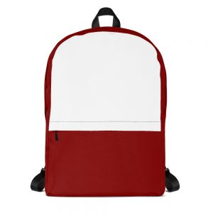 Red & White Mid-sized Activity Backpack