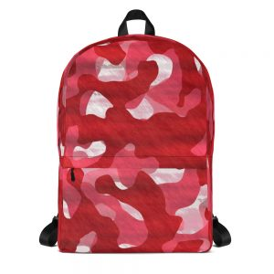 Camoflauge Red Mid-sized Activity Backpack