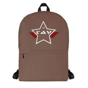TAV Solid Camo Brown Mid-sized Activity Backpack