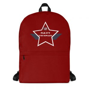 Navy Red Mid-sized Activity Backpack