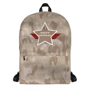Navy Desert Camouflage Mid-sized Activity Backpack