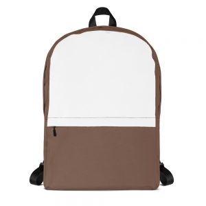 Camo Brown & White Mid-sized Activity Backpack
