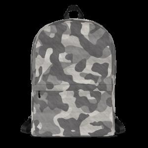 Black Camoflauge Mid-sized Activity Backpack