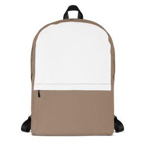 Desert Brown & White Mid-sized Activity Backpack