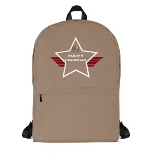 Navy Desert Brown Mid-sized Activity Backpack