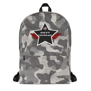 Navy Black Camouflage Mid-sized Activity Backpack