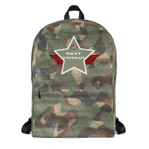 Navy Green Camouflage Mid-sized Activity Backpack