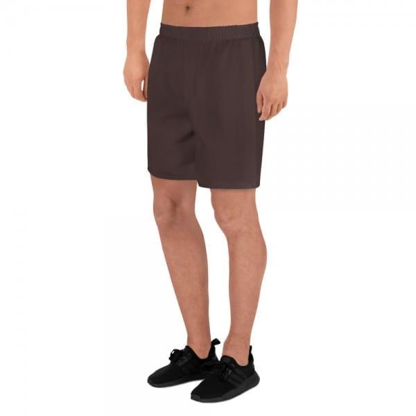 Mens Skintone Athletic Long Shorts - 3F2B2A