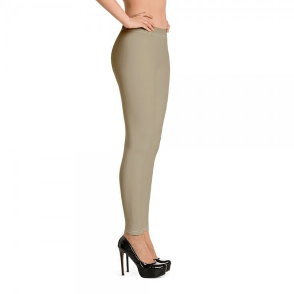 Women's Sand Brown Leggings