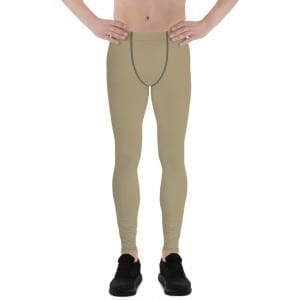 Men's Sand Brown Leggings