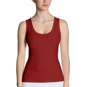 Women's Red Tank Top