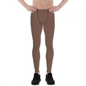 Men's Camo Brown Leggings