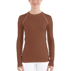 Women's Skin-tone Rash Guard - 854B37