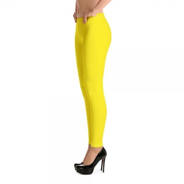 Women's Yellow LGBTQ Pride Leggings