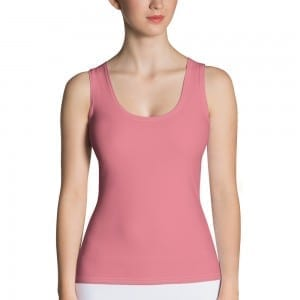 Women's Pink Tank Top