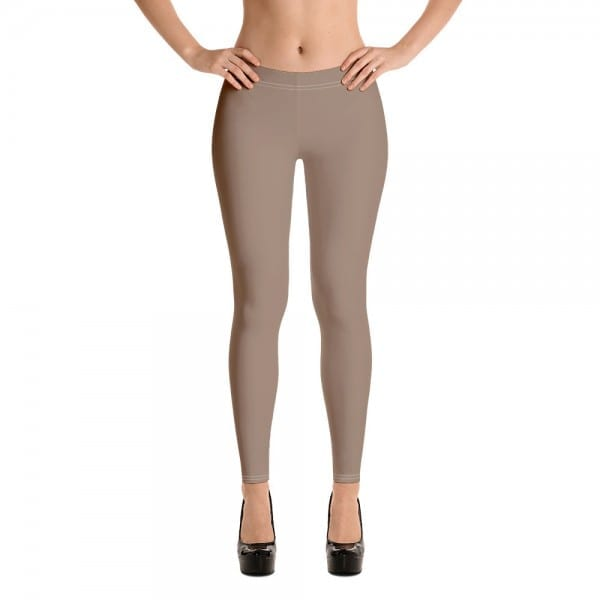 Women's Desert Brown Leggings