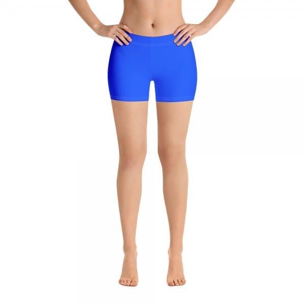 Women Blue LGBTQ Pride Print Shorts