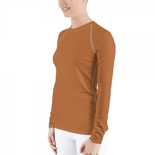 Women's Skin-tone Rash Guard - B86C3A