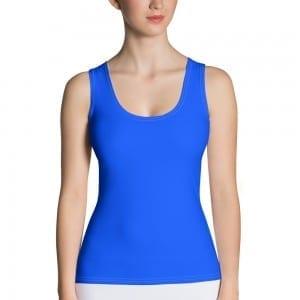 Women's Blue Tank Top