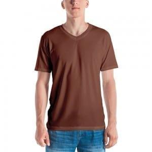 Men's Skintone V-Neck T-Shirt - 854B37