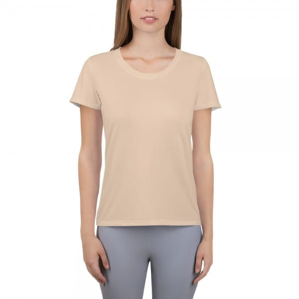 Women's Skin-tone Performance T-Shirt - ECD0B8