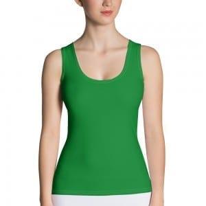 Women's Green Tank Top