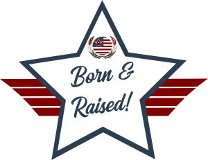 Born & Raised! American Veteran