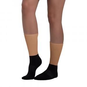 B8774F Skintone Blackfoot Designer Socks