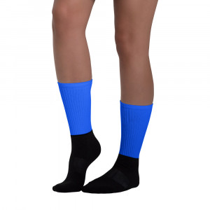 Pride Blue Blackfoot Designere Socks