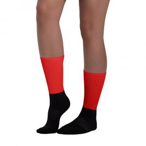 Pride Red Blackfoot Designere Socks