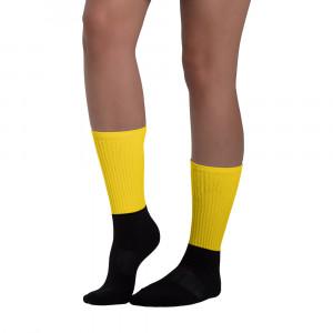 Pan-Africa Yellow Blackfoot Designer Socks