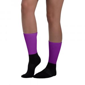 Pride Purple Blackfoot Designere Socks
