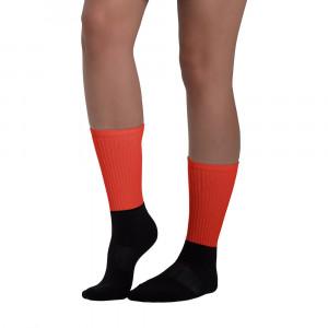 Pan-Africa Red Blackfoot Designer Socks