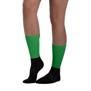 Pride Green Blackfoot Designere Socks