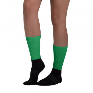 Pan-Africa Green Blackfoot Designer Socks