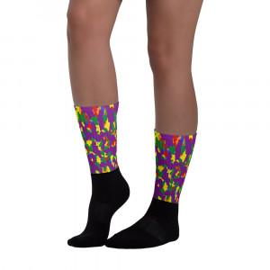 Pride Purple Camo Blackfoot Designer Socks