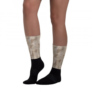 All-Over Desert Brown Camo Blackfoot Designer Socks