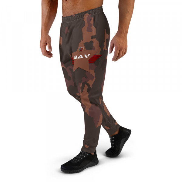 Men's All-Over Dark Skintone Camo Joggers - 854B37 BAV Shield