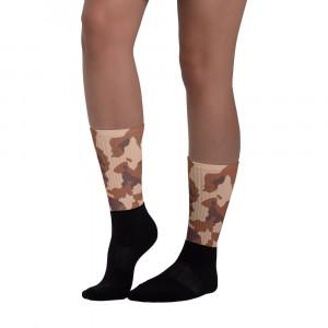 Mild Skintone Camo Blackfoot Designer Socks