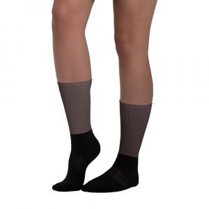 3F2B2A Skintone Blackfoot Designer Socks